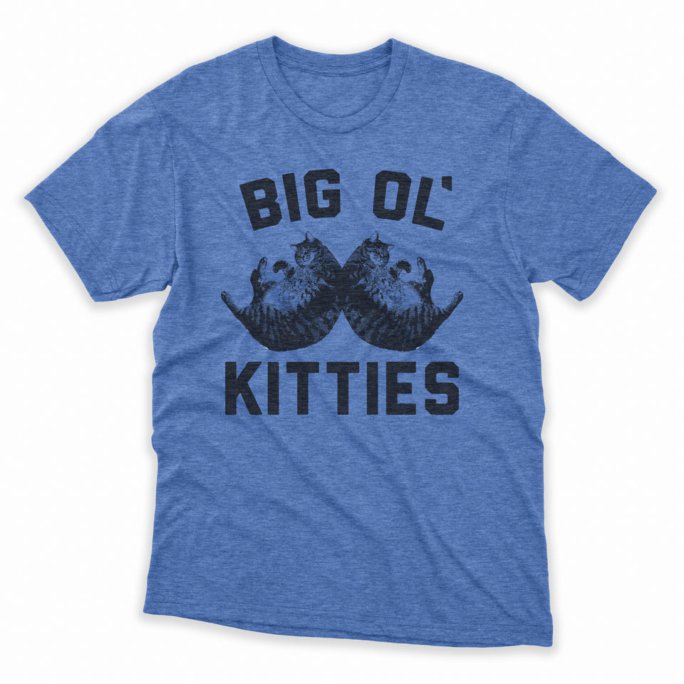 Big Ol' Kitties Mens Shirt
