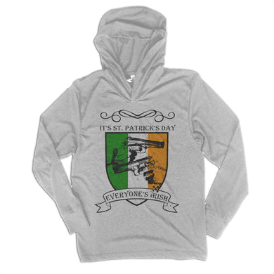 Everyone's Irish Unisex Long Sleeve Tri Blend Hoody