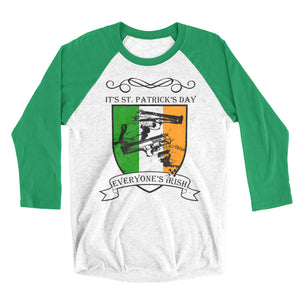 Everyone's Irish Unisex Raglan Tee