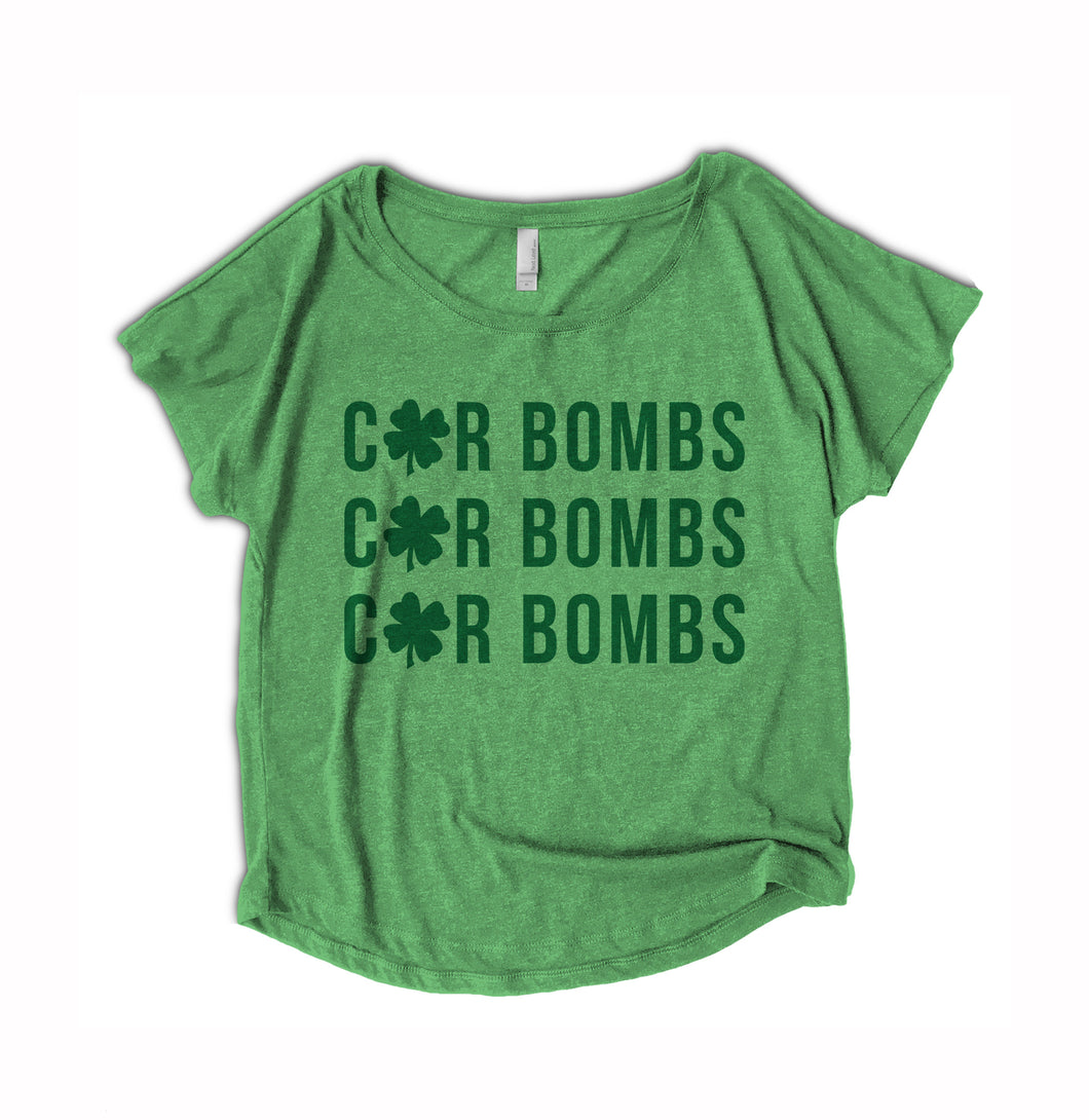 funny Irish car bomb shirt