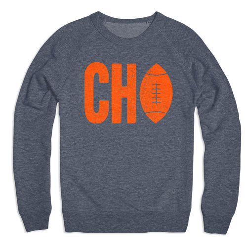Chi Football Crewneck Sweater