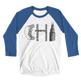 Chi Hot Dog Unisex Raglan Tee