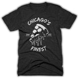 chicago deep dish pizza shirt