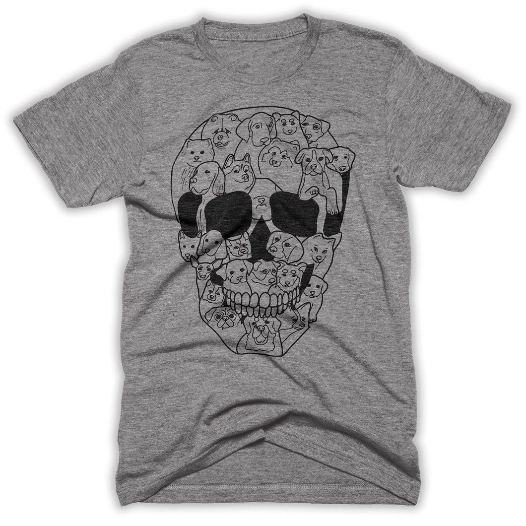 dog skeleton shirt