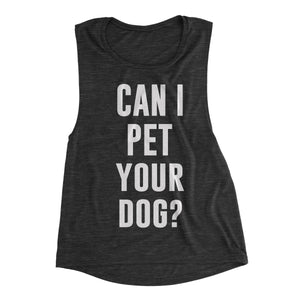 funny dog tank top