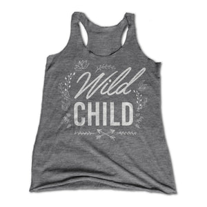 womens wild child tank top