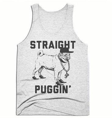 Straight Puggin Men's Tank Top