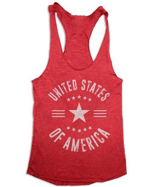 USA Women's Tri Blend Tank Top