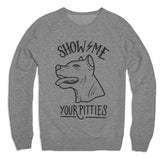 Show Me Your Pitties V2 Unisex Sweater