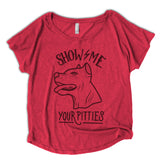 womens pitbull shirt