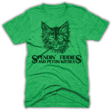 Spendin Fiddies And Pettin Kitties Mens Shirt