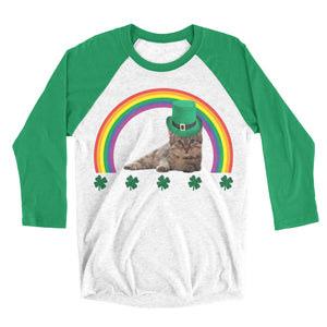 st patricks day cat shirt