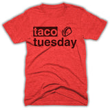 taco tuesday triblend shirt