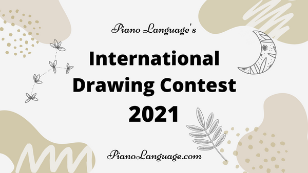 Piano Language's International Drawing Contest 2021