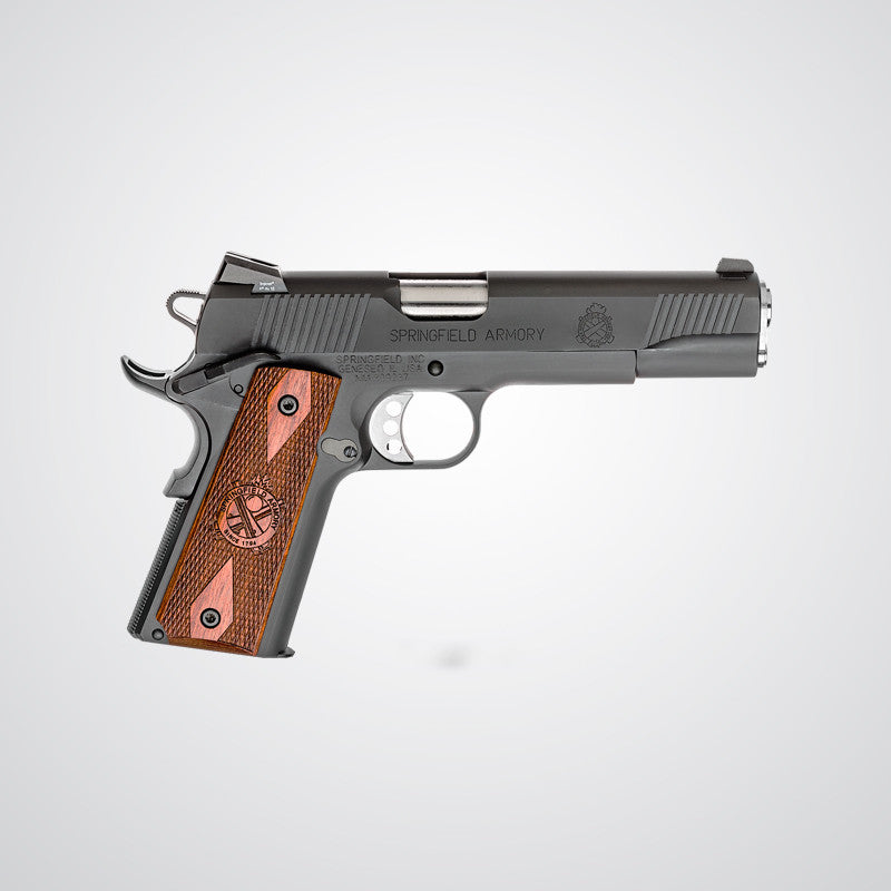 Springfield Armory® 1911 LOADED 45ACP Parkerized W/ Night Sights