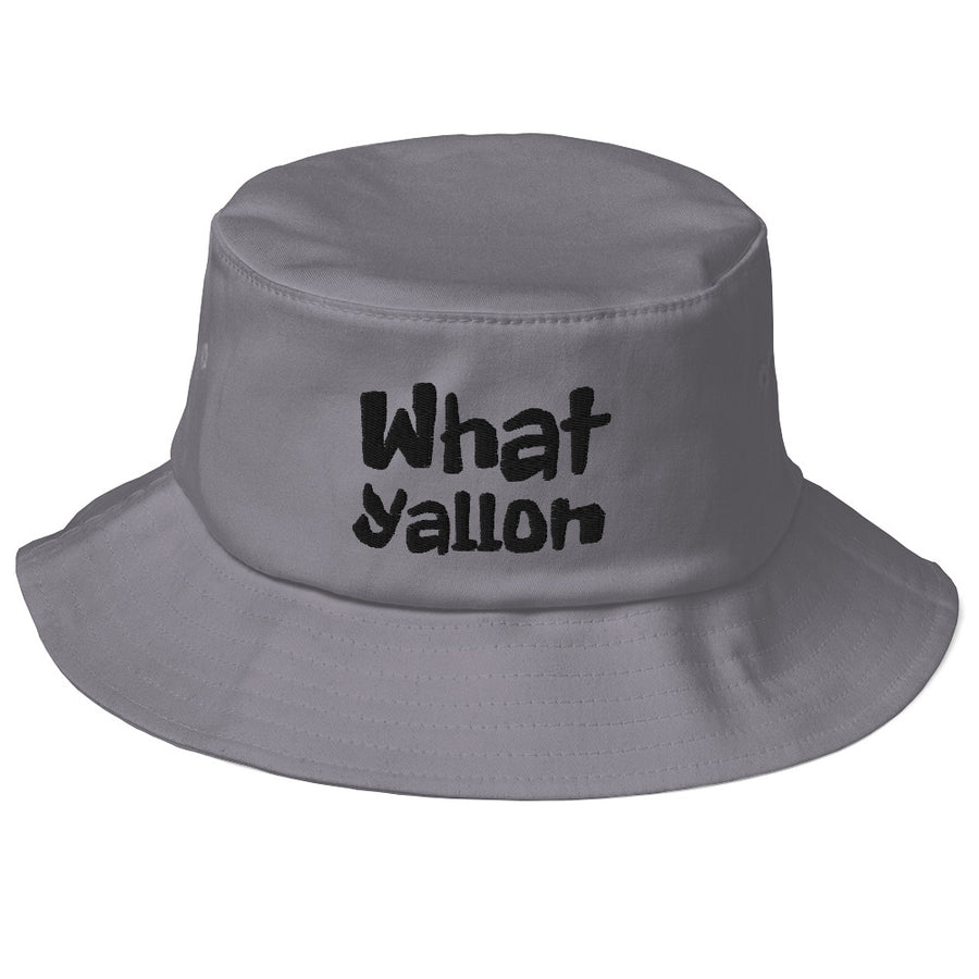 WhatYallOn Old School Bucket Hat