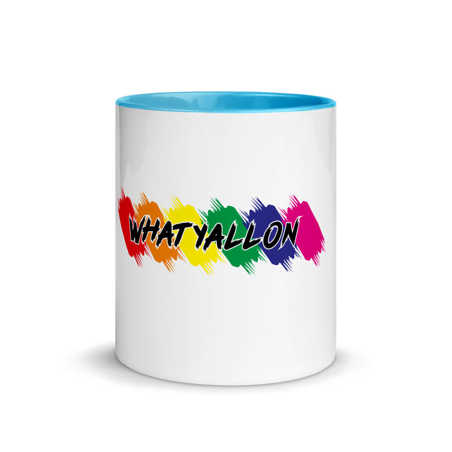 WhatYallOn Mug with Color Inside