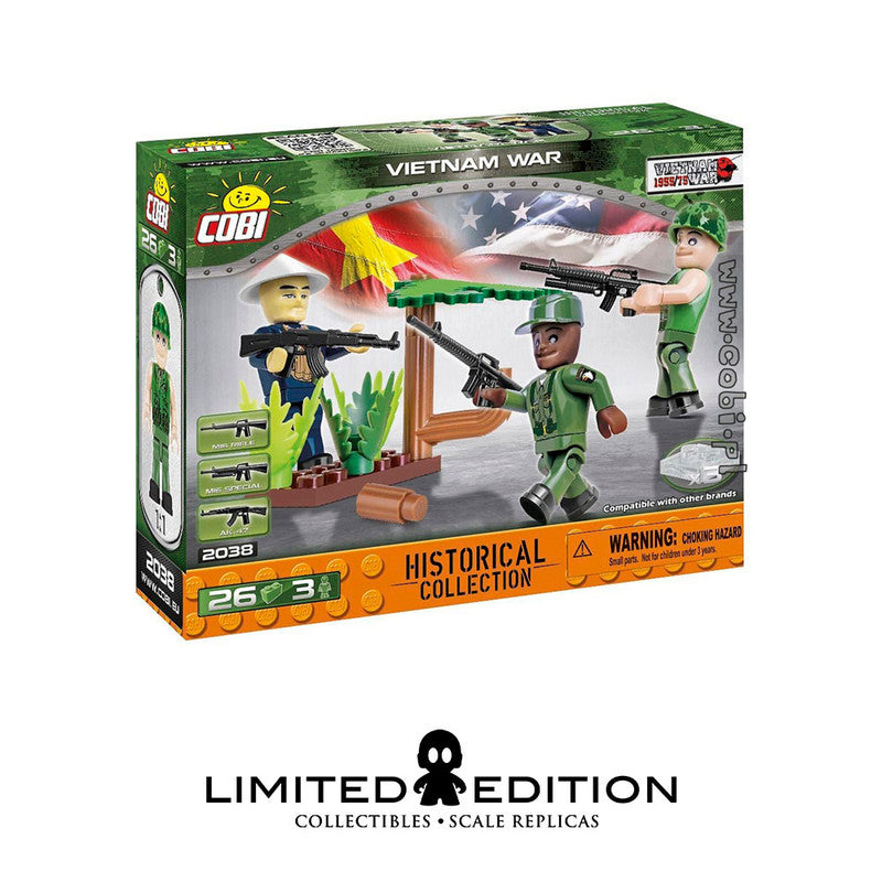 Cobi 2038 26 Pcs Small Army 2038 Vietnam War