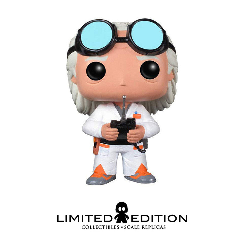 Funko Pop Dr Emmet Brown 50 Pop Movies Back To The Future