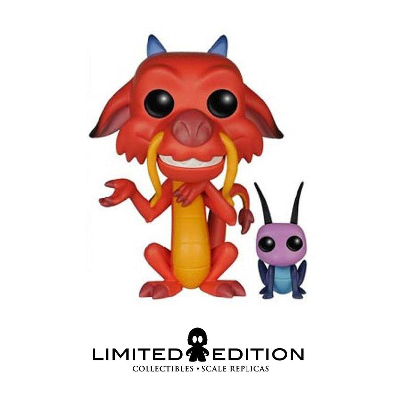 Funko Pop Mushu y Cricket 167 Mulan