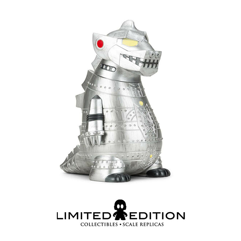 Kidrobot Mechagodzilla 8 pulg – Battle ready