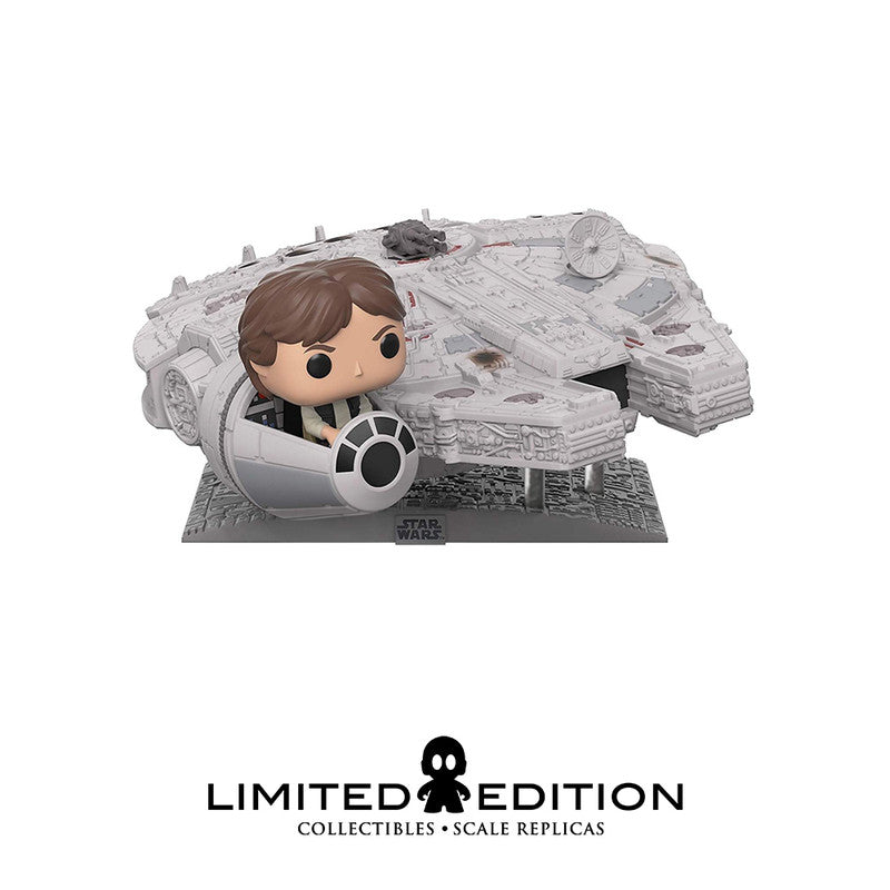 Funko Pop: Han Solo sobre el Halcón Millenario – Pop Movies – Star Wars