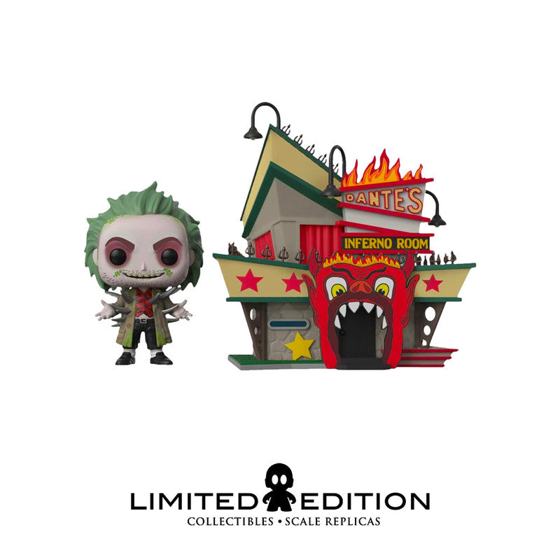 Funko Pop Beetlejuice Dante's Inferno Special Edition 06 Bettlejuice