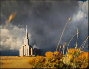 Oquirrh Mountain Peace After The Storm