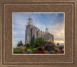 Logan Utah Temple Mountain of God