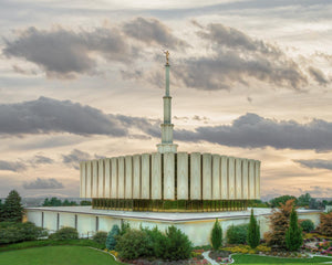 Provo Utah Temple His Sacred Place