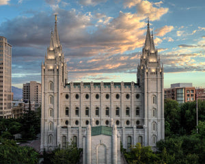 Salt Lake City Temple the House of God