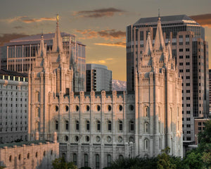 Salt Lake City Utah Temple A Mighty Refuge