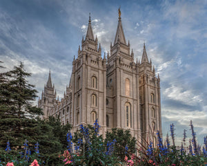 Salt Lake City Utah Temple House of Holiness