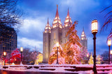 Salt Lake Christmas Temple