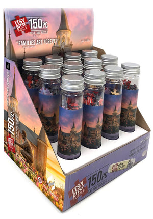 Families Are Forever 12 Pack Test Tube Itsy Bitsy Puzzle