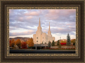 Brigham City Temple Seasons Change