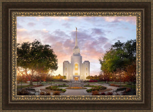 Brigham City Temple Autumn Panorama
