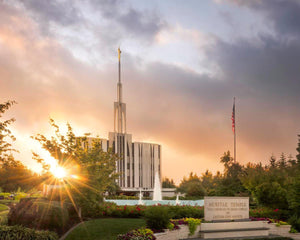 Seattle Temple Morning Breaks