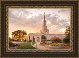 Sacramento Temple Sunset Panorama