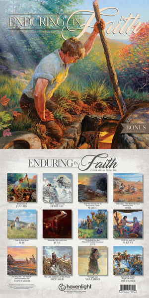 2021 Enduring in Faith Clark Kelley Price Calendar
