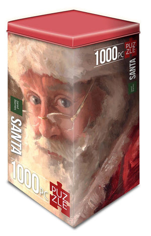 Santa Puzzle by Jared Barnes (1000 pcs)