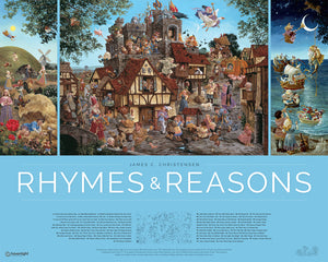 Rhymes and Reasons 30 w x 24 h poster