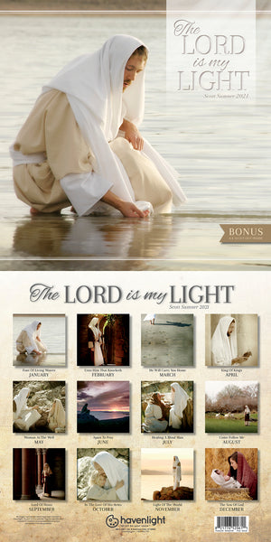 2021 The Lord is My Light Scott Sumner Calendar