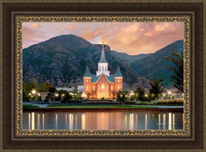 Provo City Center Reflection