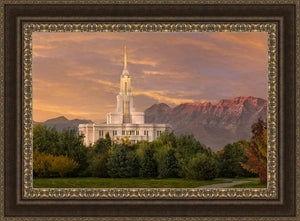 Payson Temple Golden Valley