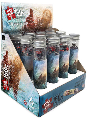 The Hand of God 12 Pack Test Tube Itsy Bitsy Puzzle