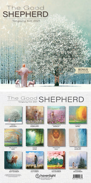 2021 The Good Shepherd Yongsung Kim Calendar