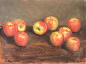 Apples 19 X 20 Original Painting
