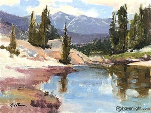 Beartooth Pass 9 X 12 Original Painting