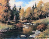 Duck Creek 16 X 20 Original Painting